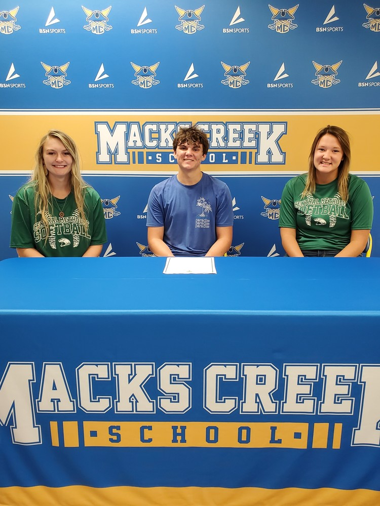 Macks Creek Athletes Sign to Play at CMU