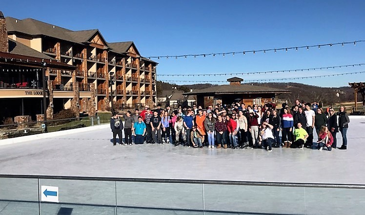 MC Students Enjoy Old Kinderhook Ice Skating