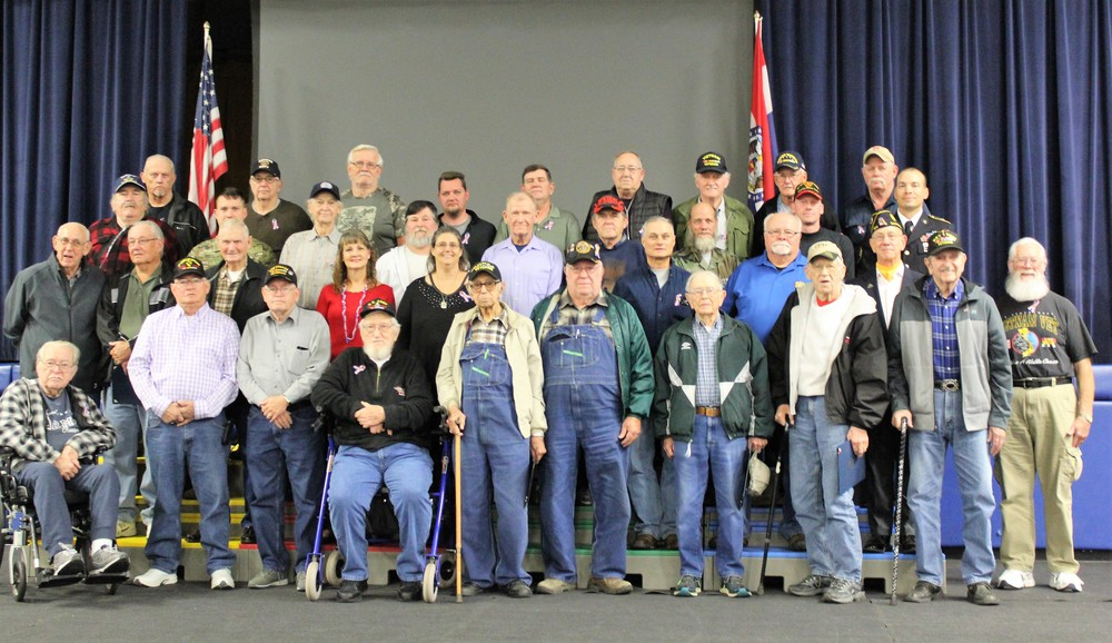 Macks Creek Students and Staff Honor 39 Area Veterans