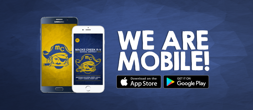 Check out the new Macks Creek School App and Website