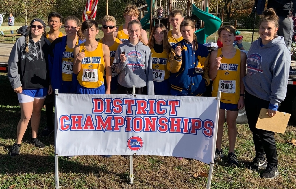 Macks Creek Cross Country District Results & Photos