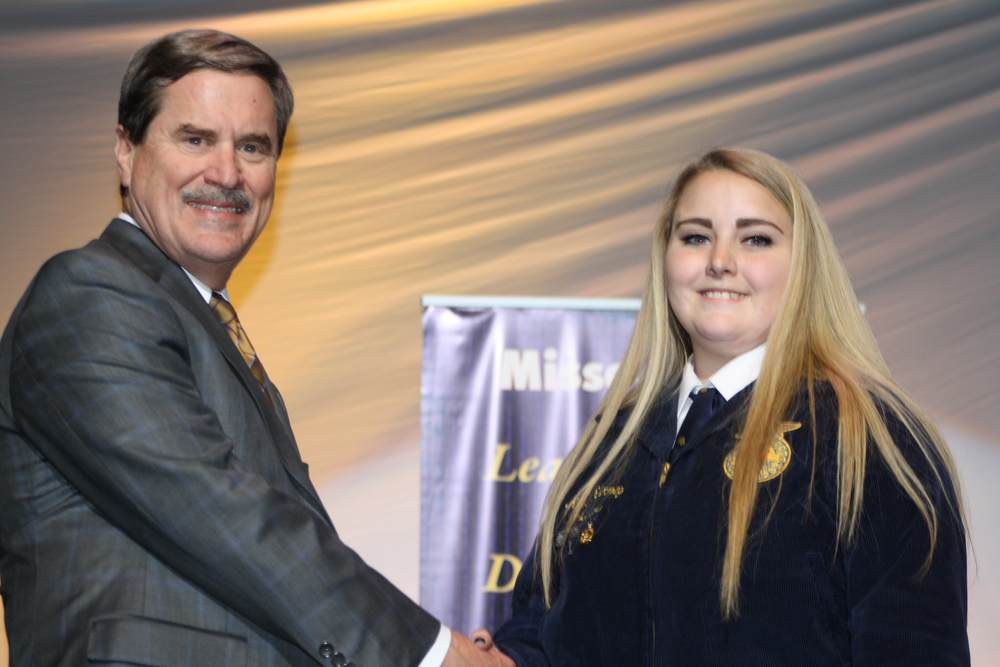 Local FFA Member Receives State's Highest FFA Honor