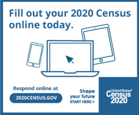 Complete your 2020 Census!