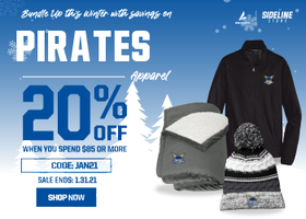 Bundle Up this Winter with Savings On MC Pirate Apparel
