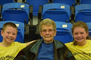 Macks Creek School Honors Faithful Fan Ms. Pauline Eidson