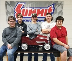 MC Students Design and Build a Customized Pedal Car to Raise Scholarship Funds