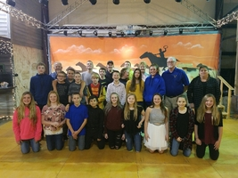 JH Athletes Honored at Banquet at Stables