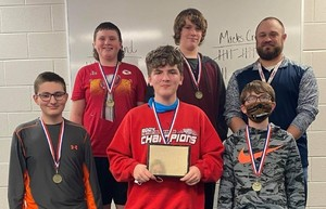 Middle School Team Wins PCL History Bowl for the Second Year in a Row