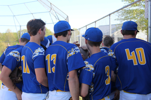 Baseball Pirates Celebrate Senior Night with PCL Win