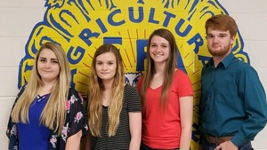 Macks Creek FFA Nursery/Landscape Team Competes in State Competition