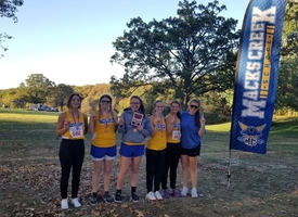 Lady Pirates take First Place at the Dixon Cross Country Meet