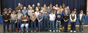 Macks Creek R-V Honors Veterans