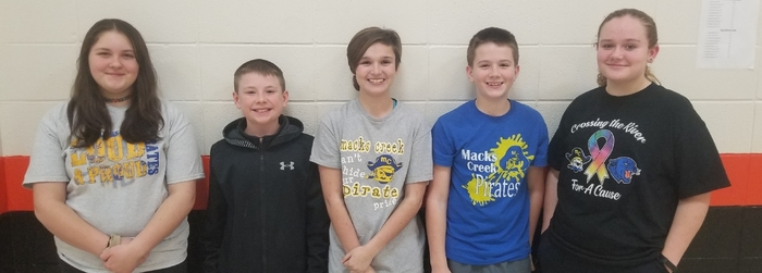 Junior High History Bowl Team