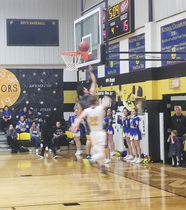 Fast break for Caleb Leach