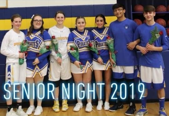 Senior Athletes 2019 Photo courtesy of Misty Hicks