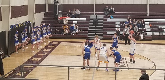 Colton Walter at the line
