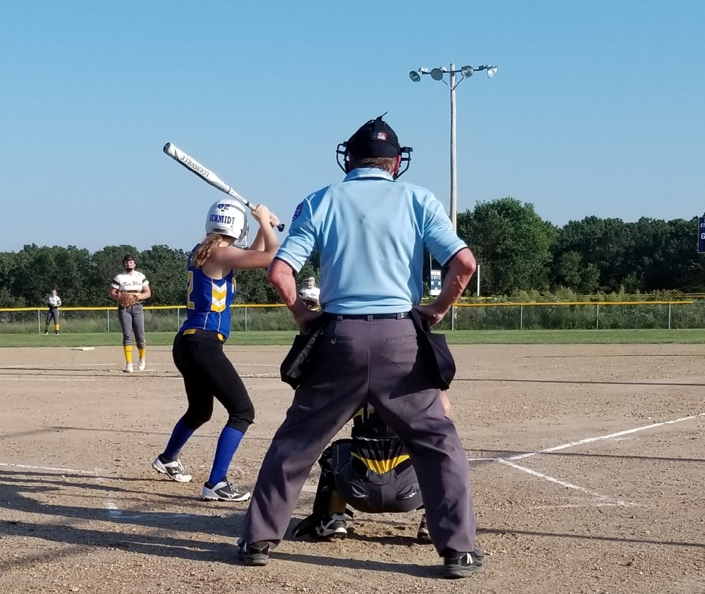 Bethany Schmidt at bat...