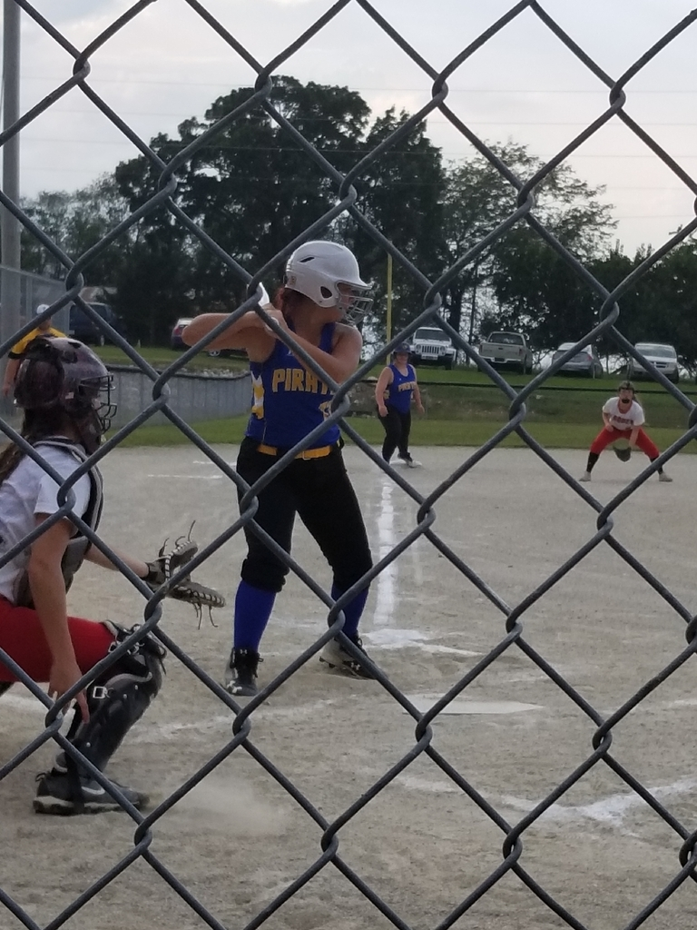 Katie Gabriel at bat...