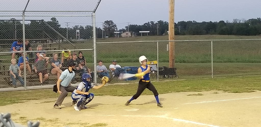 Marissa at bat