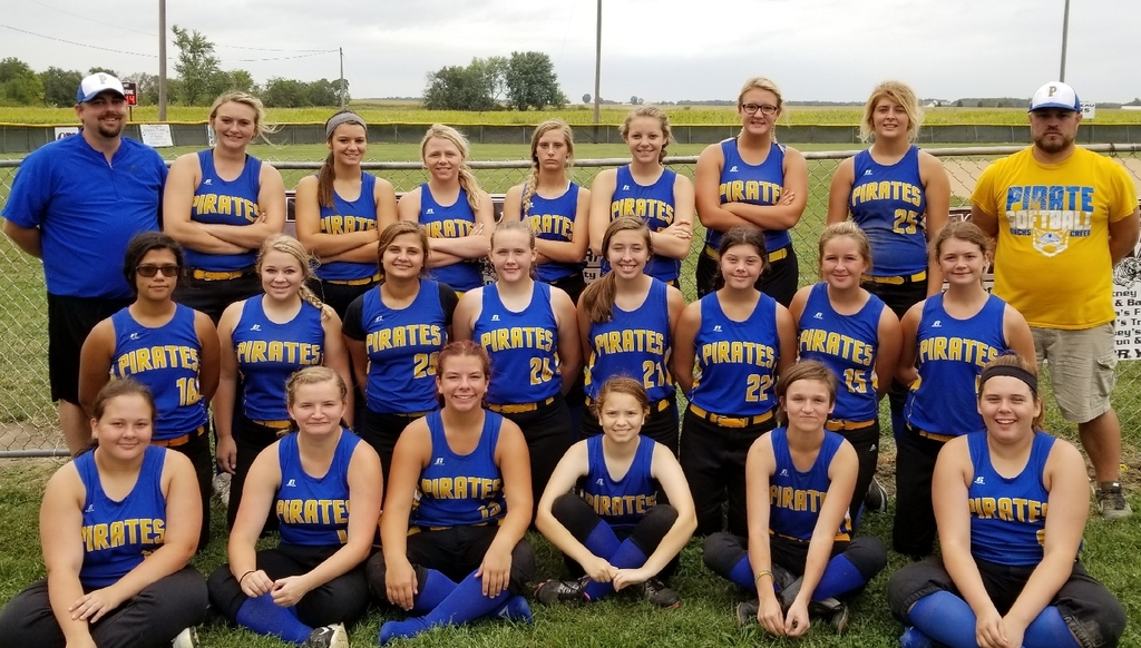 The 2019 Lady Pirates Softball Team