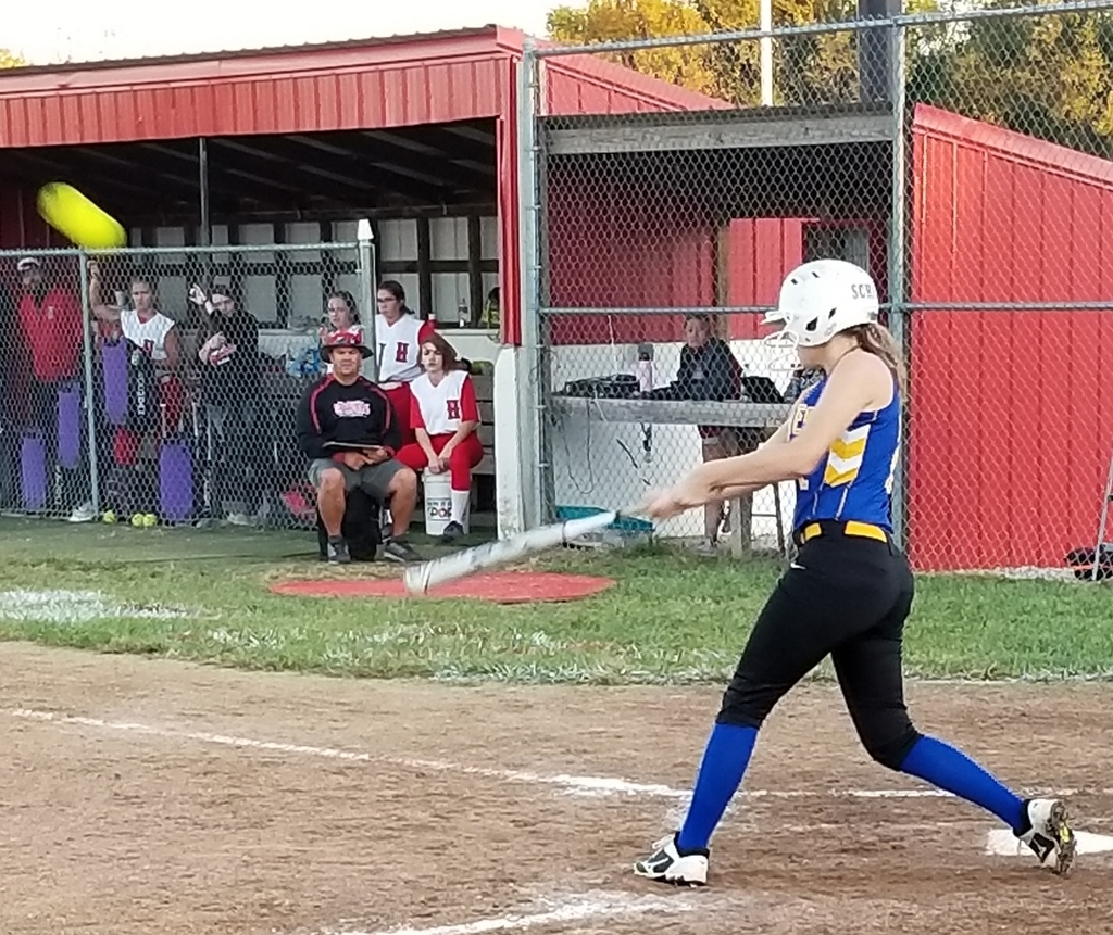 Bethany at bat