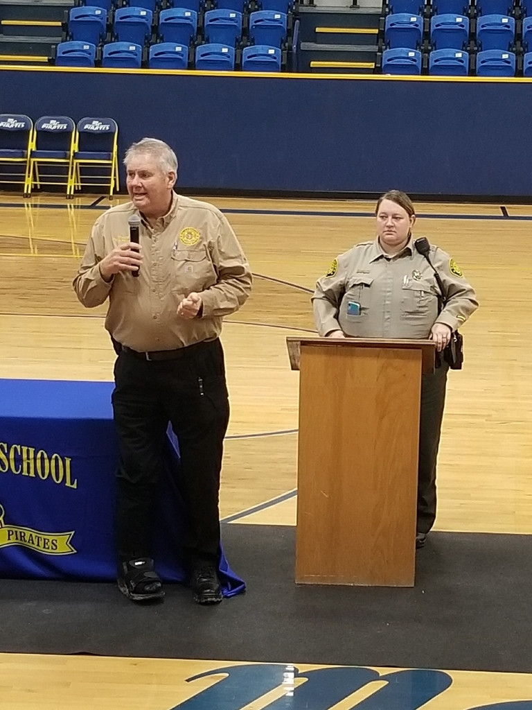 Sheriff Helms and Deputy Rugen